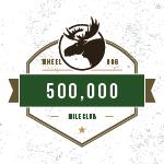500,000 milestone